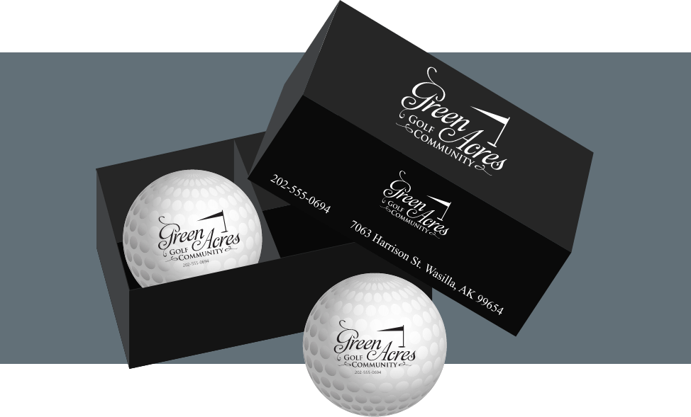 Business cards with an added element