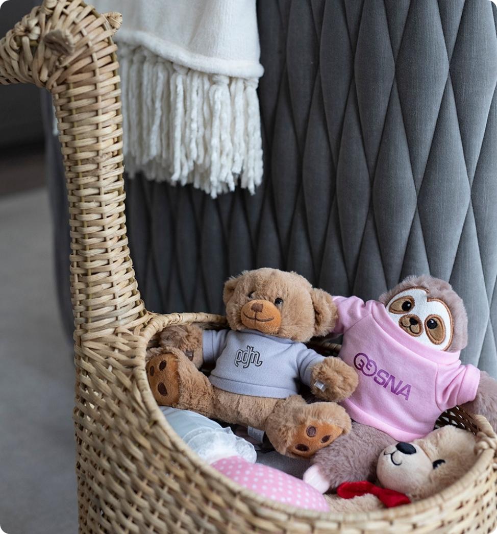 Donate stuffed animals to