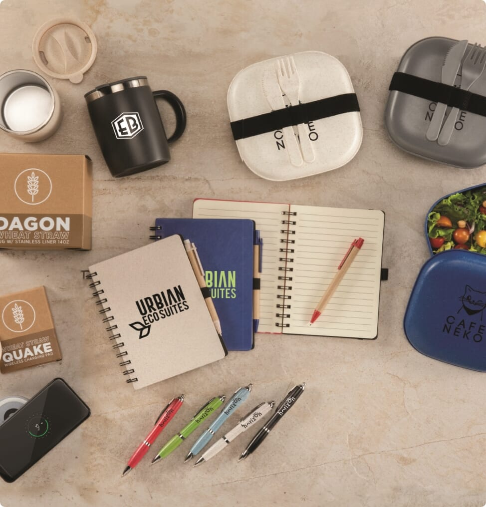 Decorate Eco-Friendly Gifts with Green
