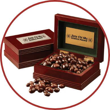 Custom Wooden Snack Box