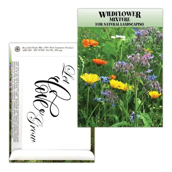"Standard Series Seed Packet- Wildflower Mix"""