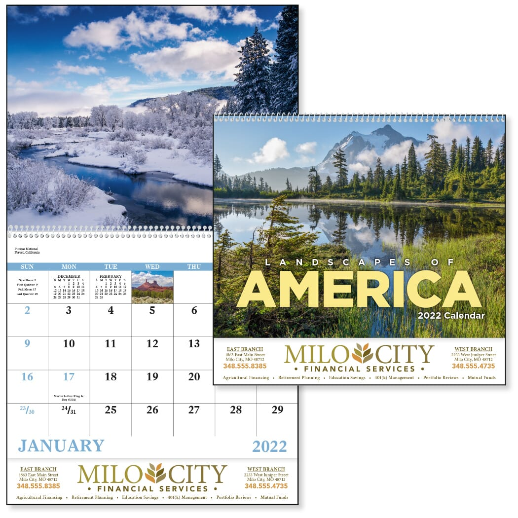 wall calendar with inspirational quotes