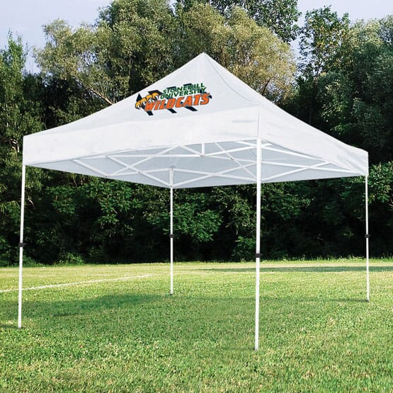 White tent for outdoor events