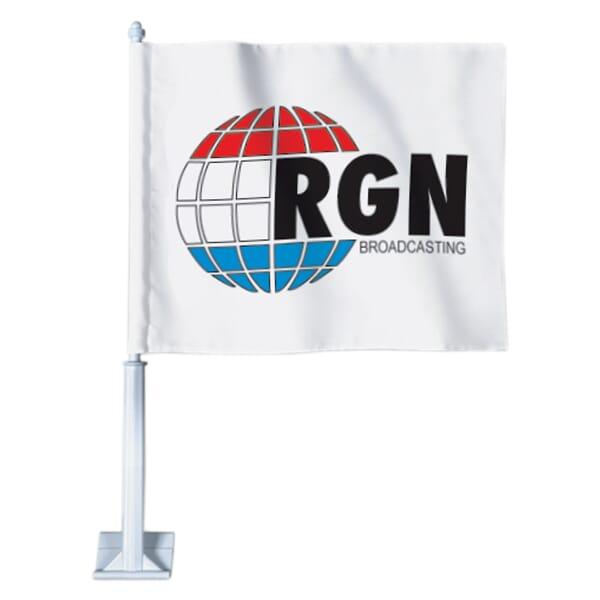 Customized car flag