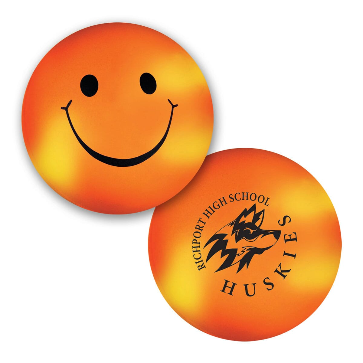 Smiley Face Color Changing Stress Ball