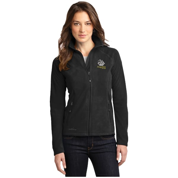 Branded fleece jackets and pullovers