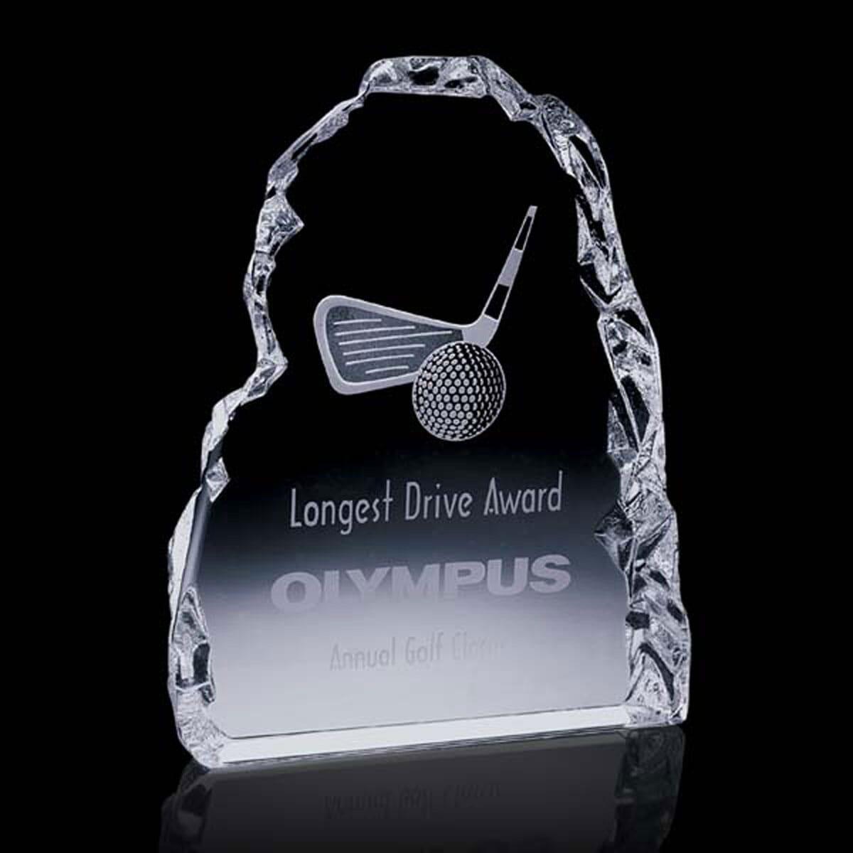 Laser Engraved Golf Award