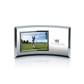Silver horizontal picture frame