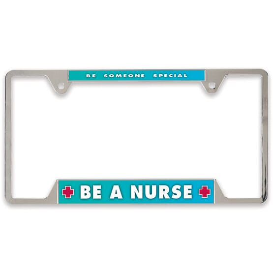 Customized metal license plate frame
