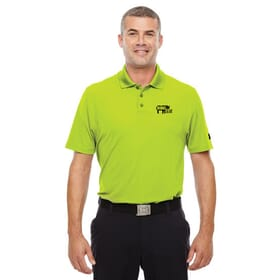 Under Armour Corp Performance Polo in Hi Vis Yellow