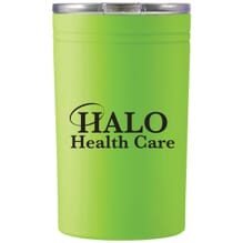 Lime insulated tumbler and can cooler