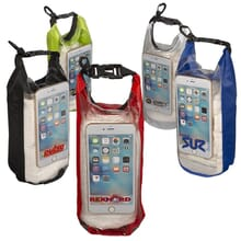 Water-Resistant Dry Bags with Mobile Pocket