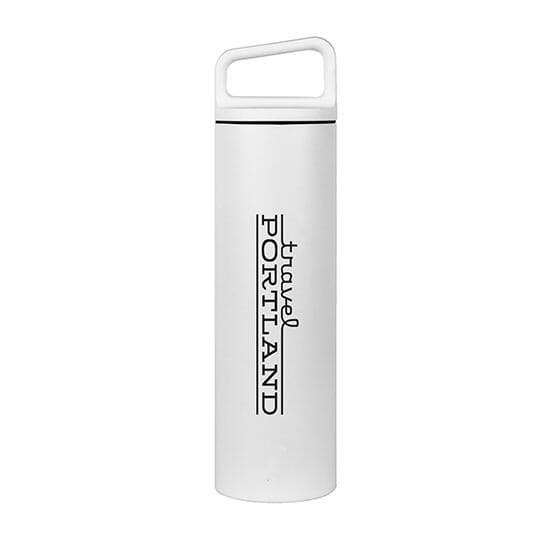 White MiiR Vacuum Insulated Wide Mouth Bottle
