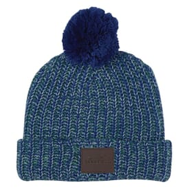 Grace Pom Beanie with Cuff