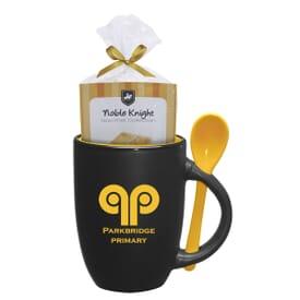 12 oz Spooner Mug w/ Mug Cake