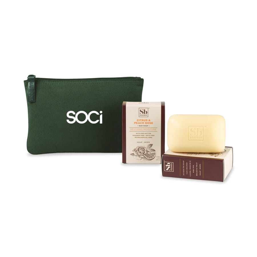 Soapbox Nourish & Restore Gift Set with Soap Bars