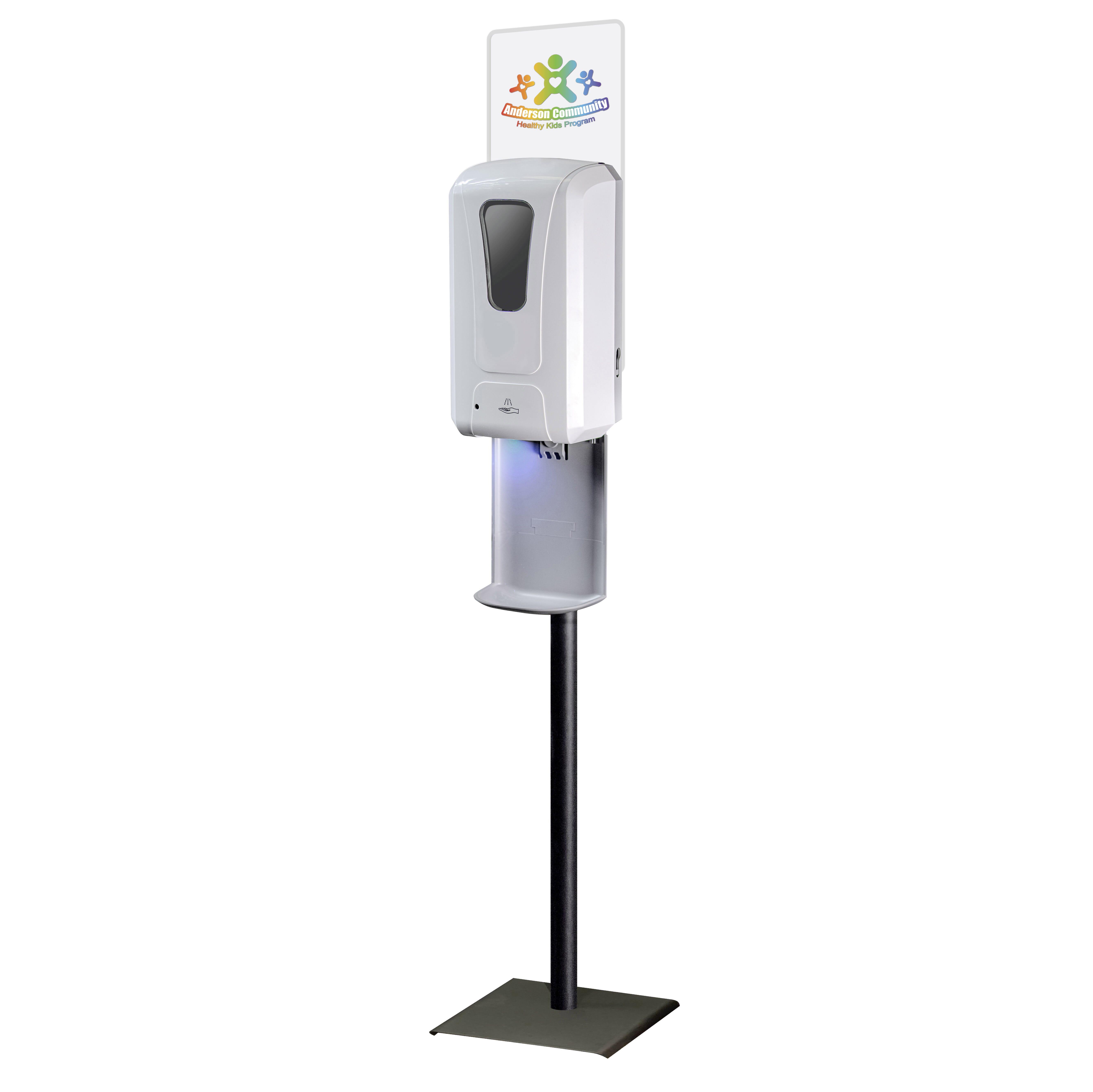 sanitizer holder stand